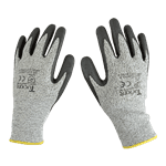 FMP 133-1832 Cut Resistant Utility Gloves by Tucker Safety Products X-Small  level 4 ANSI compliant  sold by the pair