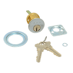 FMP 134-1051 Emergency Exit Alarm Control Cylinder Lock with Keys by Detex