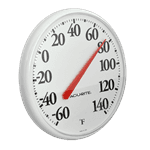 FMP 138-1052 Refrigerator/Freezer Large Dial Thermometer