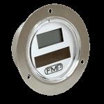 FMP 138-1084 Refrigerator/Freezer Solar Powered Digital Thermometer -60* to 160*F