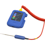 FMP 138-1292 HACCP Touch Thermometer with Data Recorder by Comark