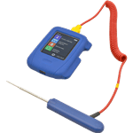 FMP 138-1293 HACCP Touch Thermometer with Data Recorder by Comark