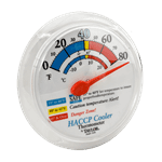 FMP 138-1311 Refrigerator/Freezer Wall Thermometer by Taylor 0* to 80*F operating temperature