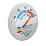 """FMP 138-1313 Refrigerator/Freezer Wall Thermometer by Taylor 13-1/4"""" easy-to-read dial face"""
