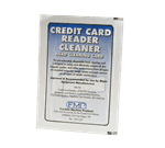 FMP 139-1127 Credit Card Reader Cleaning Card