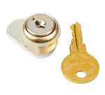 FMP 141-2025 Reserve Roll Toilet Tissue Dispenser Cylinder Lock and Key by Bobrick