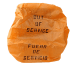FMP 141-2115 Out of Service Bonnets Pack of 5