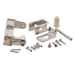 """FMP 141-2138 Self-Closing Stall Hinge Kit For 1"""" stall partitions"""