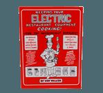 FMP 142-1360 Electric Restaurant Equipment Repair Book