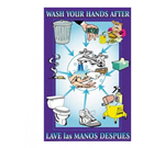 FMP 142-1498 Wash Your Hands Poster