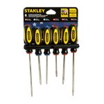 FMP 142-1726 Screwdriver Set Heat-treated alloyed steel shafts with cold-forged steel tips