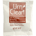 FMP 143-1156 Urn-Clean All-Purpose Brewing Equipment Cleaners 3/4 oz packets  pack of 150