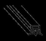 FMP 148-1074 Drawer Gasket