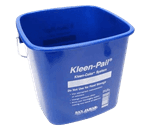 FMP 150-6035 Kleen-Pail Writable Label Area Bucket by San Jamar 6 qt