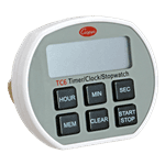 FMP 151-1064 6-Button Electronic Timer/Clock/Stopwatch by Cooper Atkins Memory recall  antimicrobial