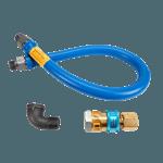 """FMP 157-1111 Blue Hose Gas Connector Kit by Dormont 3/4"""" NPT x 36"""" L"""