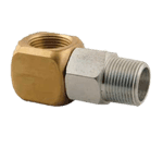 "FMP 157-1133 3/4"" NPT Swivel Gas Fitting by T&S Brass"