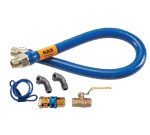 """FMP 157-1145 Blue Hose Gas Connector Kit by Dormont 3/4"""" NPT x 36"""" L"""