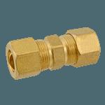 """FMP 158-1041 Brass Coupling 7/16"""" OD tubing"""