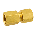 "FMP 158-1049 Brass Female Connector 5/16"" OD Tubing x 1/8"" NPT"