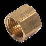 """FMP 158-1052 Brass Nut 1/2"""" OD tubing"""