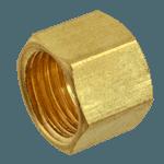 """FMP 158-1053 Brass Nut 1/4"""" OD tubing"""