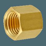 """FMP 158-1054 Brass Nut 3/16"""" OD tubing"""