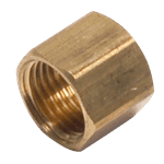 """FMP 158-1057 Brass Nut 7/16"""" OD tubing"""