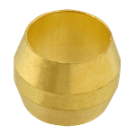 """FMP 158-1059 Brass Ferrule 1/4"""" OD tubing"""