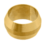 """FMP 158-1061 Brass Ferrule 3/8"""" OD tubing"""