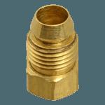 """FMP 158-1121 Brass Breakaway Ferrule 1/4"""" OD tubing"""