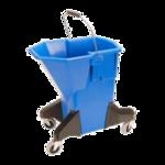 FMP 159-1101 Blue Plastic Mop Bucket