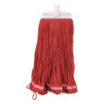 FMP 159-1106 Red Cloth Mop Head