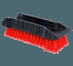 FMP 159-1115 Handheld Brush with Scraper Red bristles