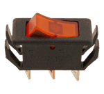 FMP 160-1083 Motor Switch Amber lens