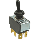 FMP 170-1190 Toggle Switch DPDT  On/Mom/Off