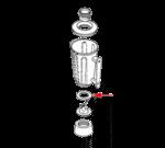 FMP 176-1042 Gasket