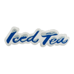 FMP 178-1010 Iced Tea Label