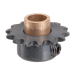 FMP 183-1087 Idler Sprocket with Bearing 14-tooth