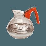 FMP 190-1109 Decanter by BUNN Orange handle (decaffeinated)