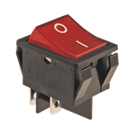 FMP 194-1029 Lighted Switch Red lens