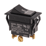 FMP 200-1017 Lighted Rocker Switch SPST  On/Off