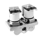 "FMP 220-1388 Dual Gas Solenoid Valve 3/8"" NPT"