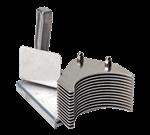 "FMP 224-1171 Pusher Block Assembly 1/4"" slice  10 fins"