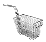 """FMP 225-1004 Fryer Basket with Feet 9-3/8"""" L x 4-3/4"""" W x 5-3/8"""" HRight/front hook"""