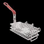 "FMP 226-1103 Chimichanga/Burrito Basket 11-1/2"" L x 6"" W x 3-7/8"" D Designed for chimchangas  burritos  corn dogs  or frozen pies"