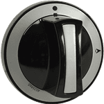 """FMP 229-1217 Griddle Knob Flat down in """"Off"""" position"""