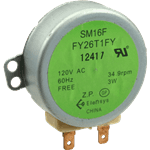 FMP 249-1163 Antenna Motor 34.9 RPM