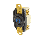 FMP 253-1027 3 Phase Twist Lock Receptacle