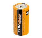 FMP 253-1240 Duracell Procell C Battery Commercial alkaline